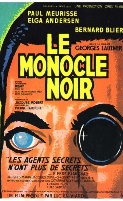 Le monocle noir, l'affiche