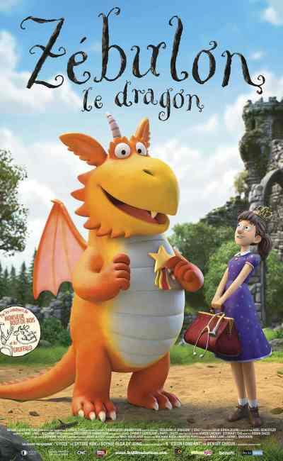 Zebulon le dragon : voici l'affiche française proposée par Les Films du Préau