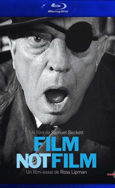 Film / Notfilm, la jaquette du blu-ray