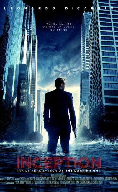 Affiche de Inception de CHristopher Nolan