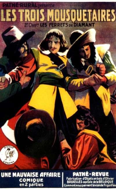 Les trois mousquetaires, affiche de la version de 1921