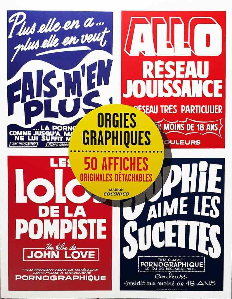 Orgies Graphiques, couverture - Maison Cocorico