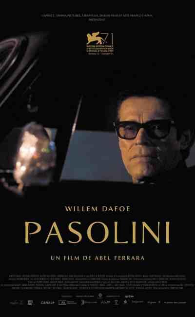 Affiche du film Pasolini de Abel Ferrara