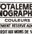Orgies Graphiques : l'affiche typographique nous en fait voir de toutes les couleurs