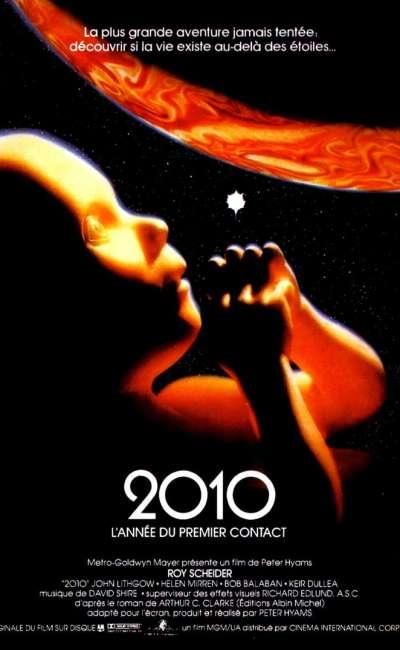 2010, l'année du premier contact, l'affiche
