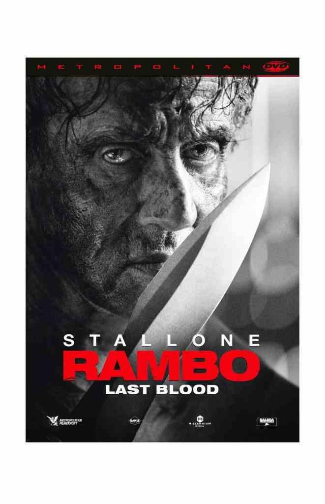 Jaquette DVD de Rambo : Last Blood, disponible chez Metropolitan FilmExport