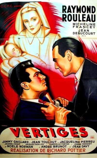 Vertiges, l'affiche du film de 1947