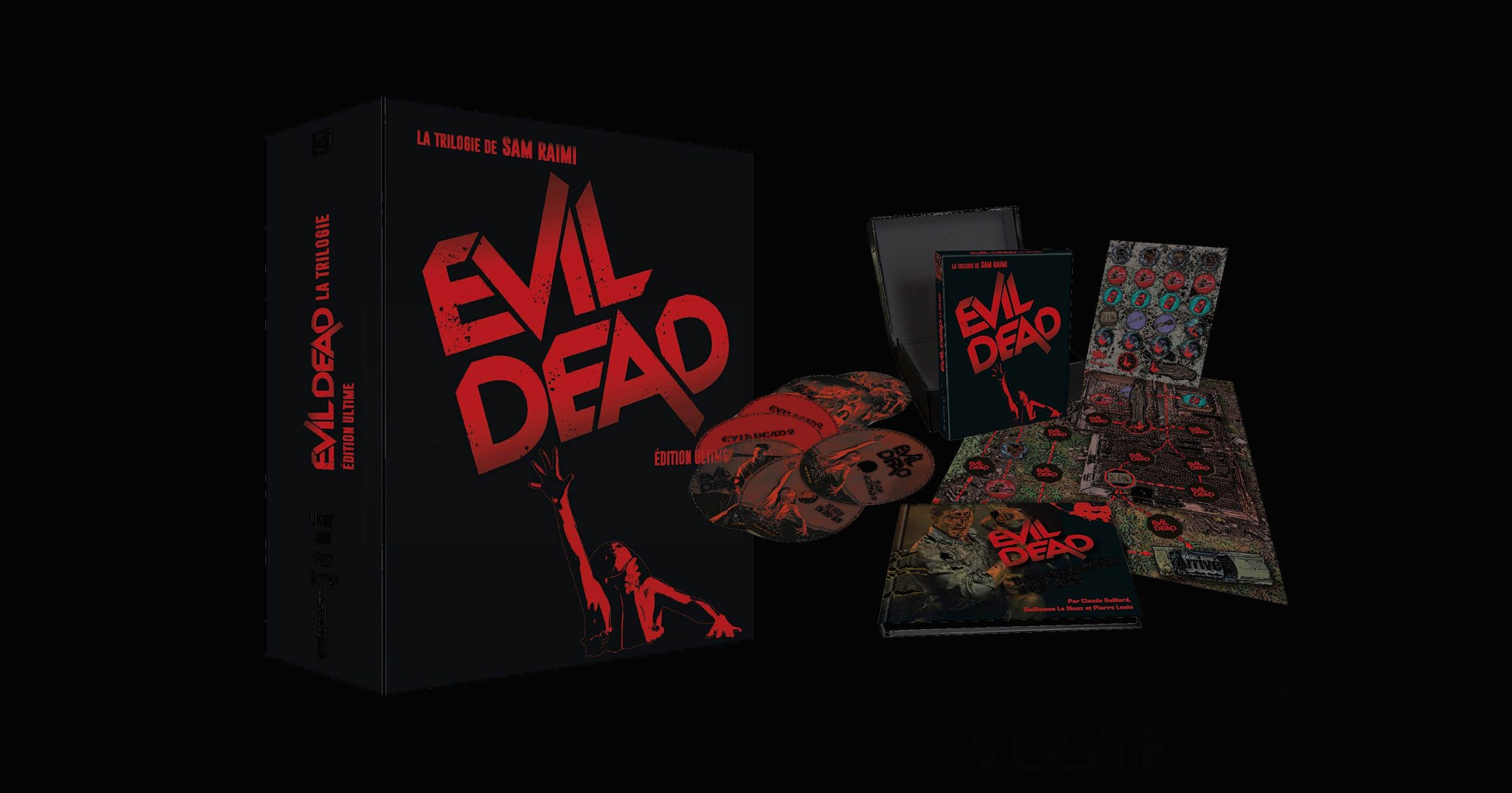 Edition ultime d'Evil Dead, disponible chez L'Atelier D'Images