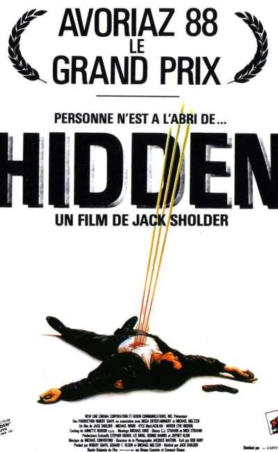 Hidden, l'affiche du film