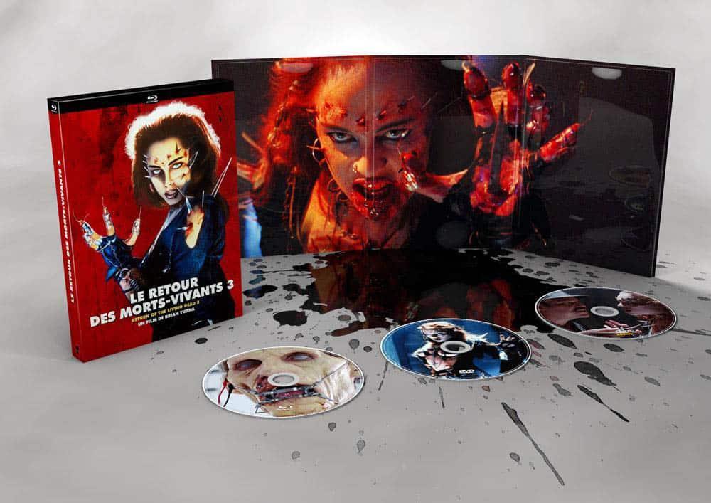 L'édition collector limitée du Retour des morts vivants 3 aux Editions du Chat qui fume