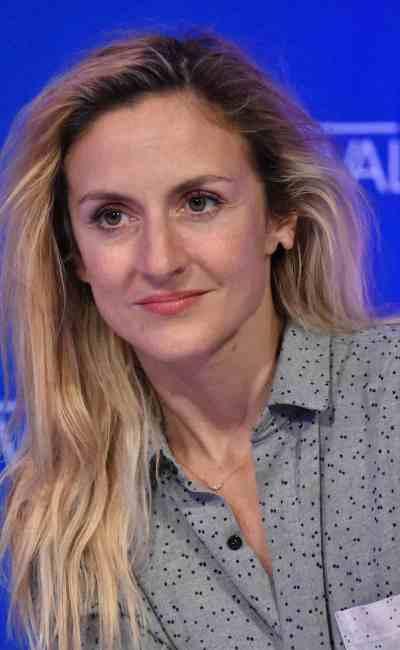 Camille Chamoux photographiée par Patrick Levanneur, à l'occasion de la promotion du film Sol