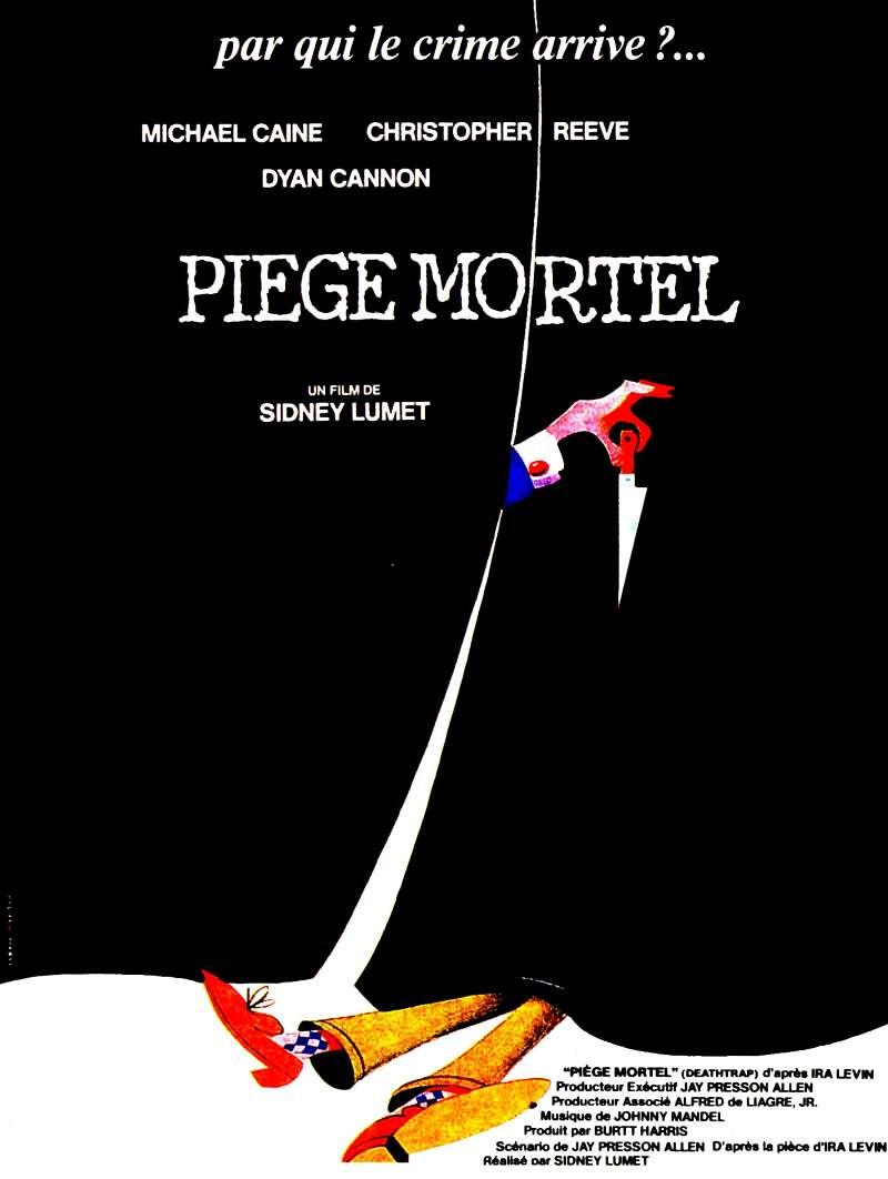 Piège mortel, l'affiche