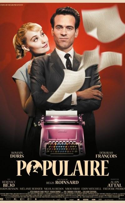 Populaire, affiche du film de Régis Roinsard