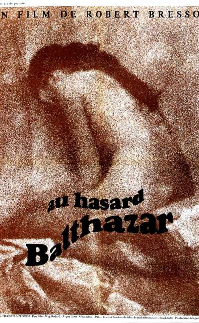 Au hasard Balthazar, l'affiche de 1966