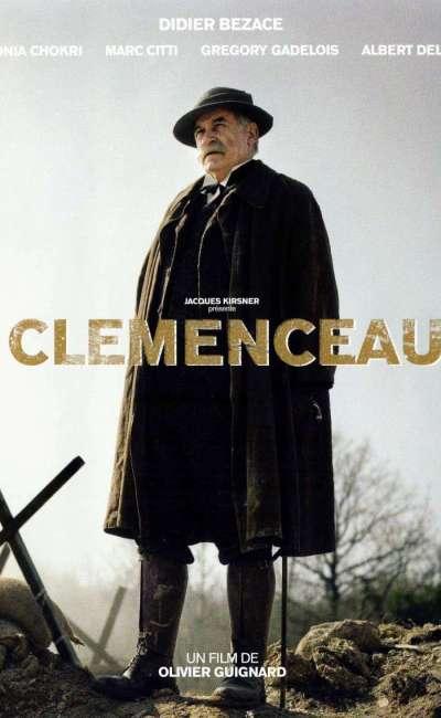 Clémenceau, l'affiche du téléfilm