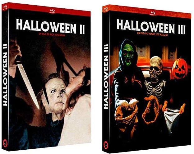 Halloween 2 et 3 aux éditions du Chat qui Fume
