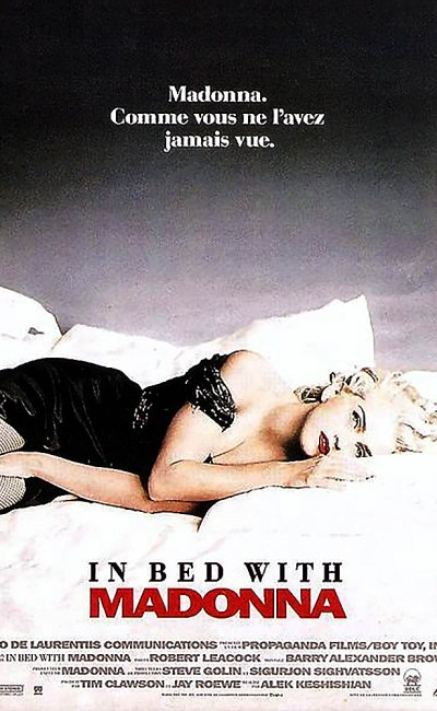 Affiche d'In bed with Madonna, France mai 1991