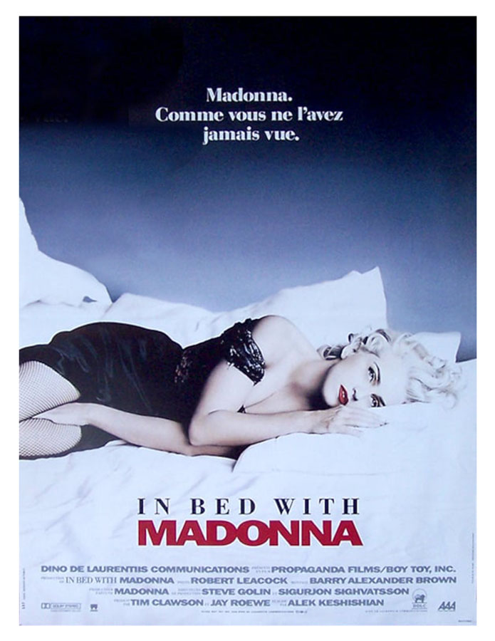 In Bed With Madonna,; affiche française