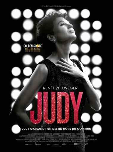 Renée Zellweger dans Judy, affiche