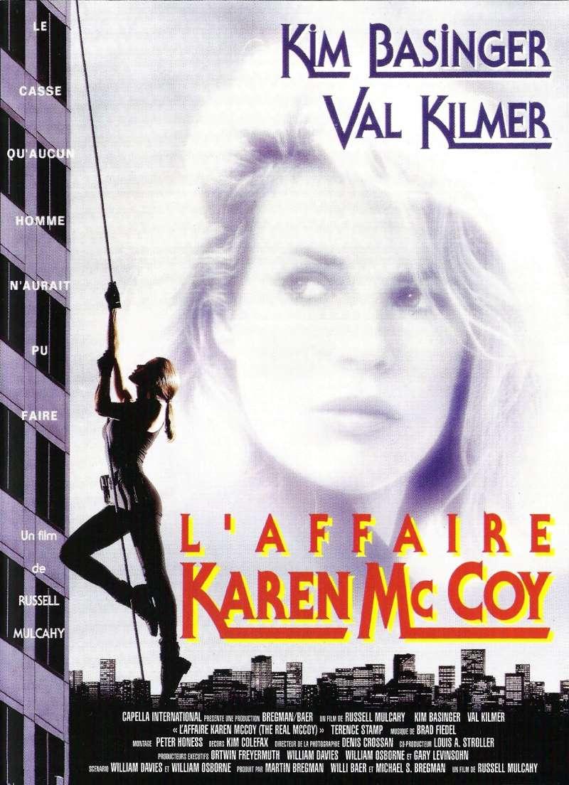 L'affaire Karen McCoy, l'affiche