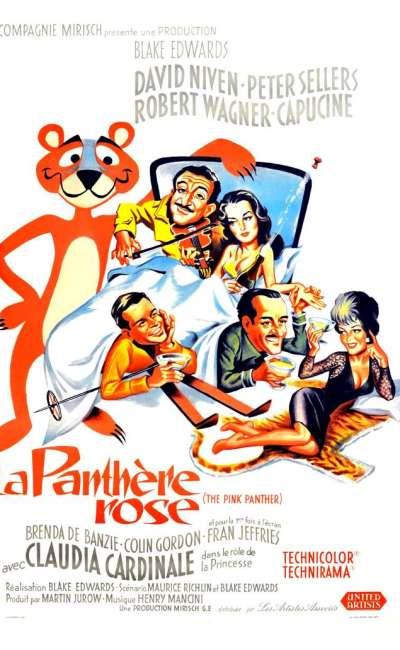 La panthère rose, l'affiche du film de 1963