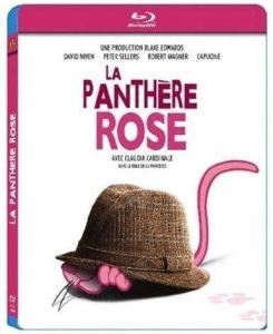 La panthère rose, jaquette blu-ray