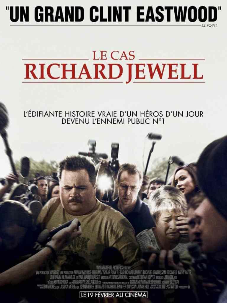 Le cas de Richard Jewell : l'affiche du film de Clint Eastwood