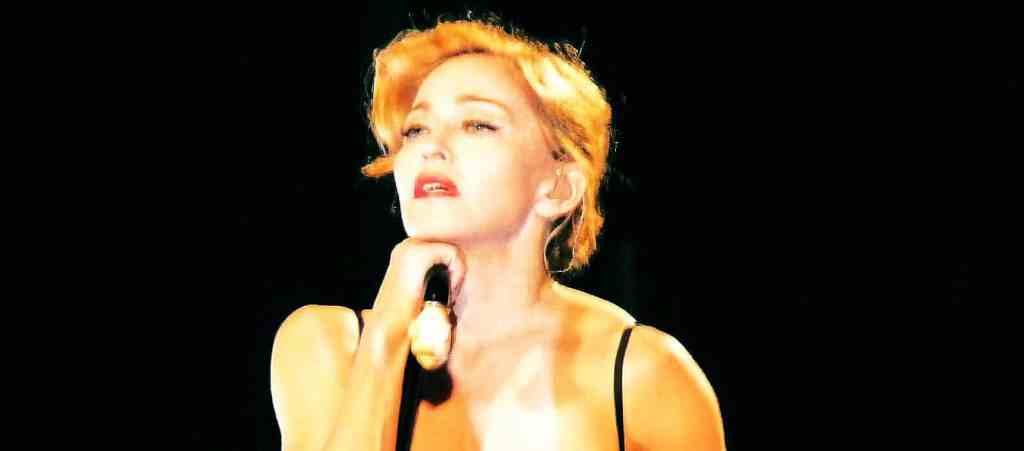 Madonna photographiée lors du MDNA TOUR - photo exclusive