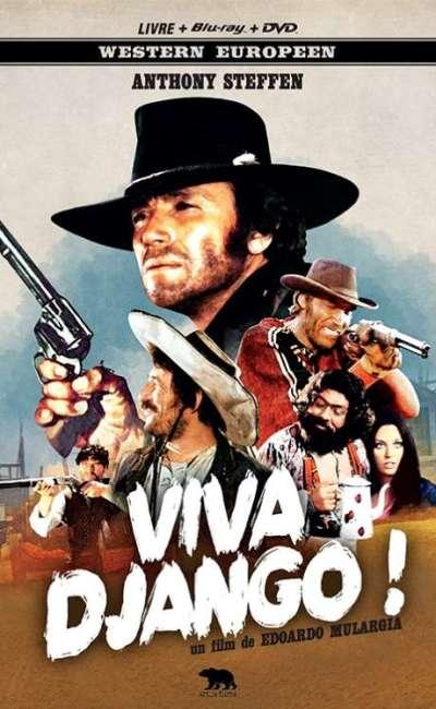 Viva Django, la jaquette du Mediabook