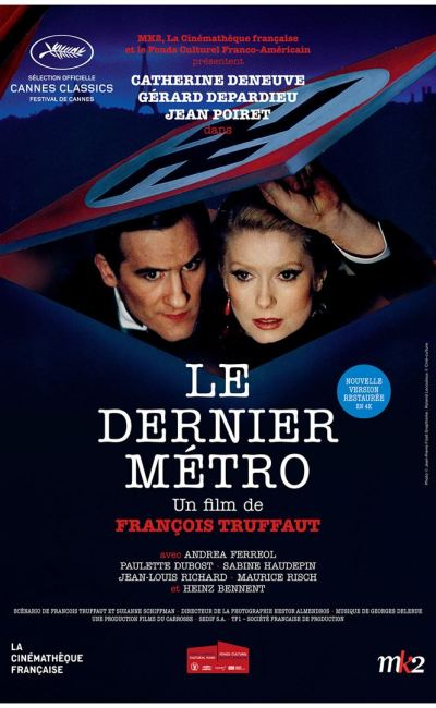 Affiche (reprise) du Dernier métro