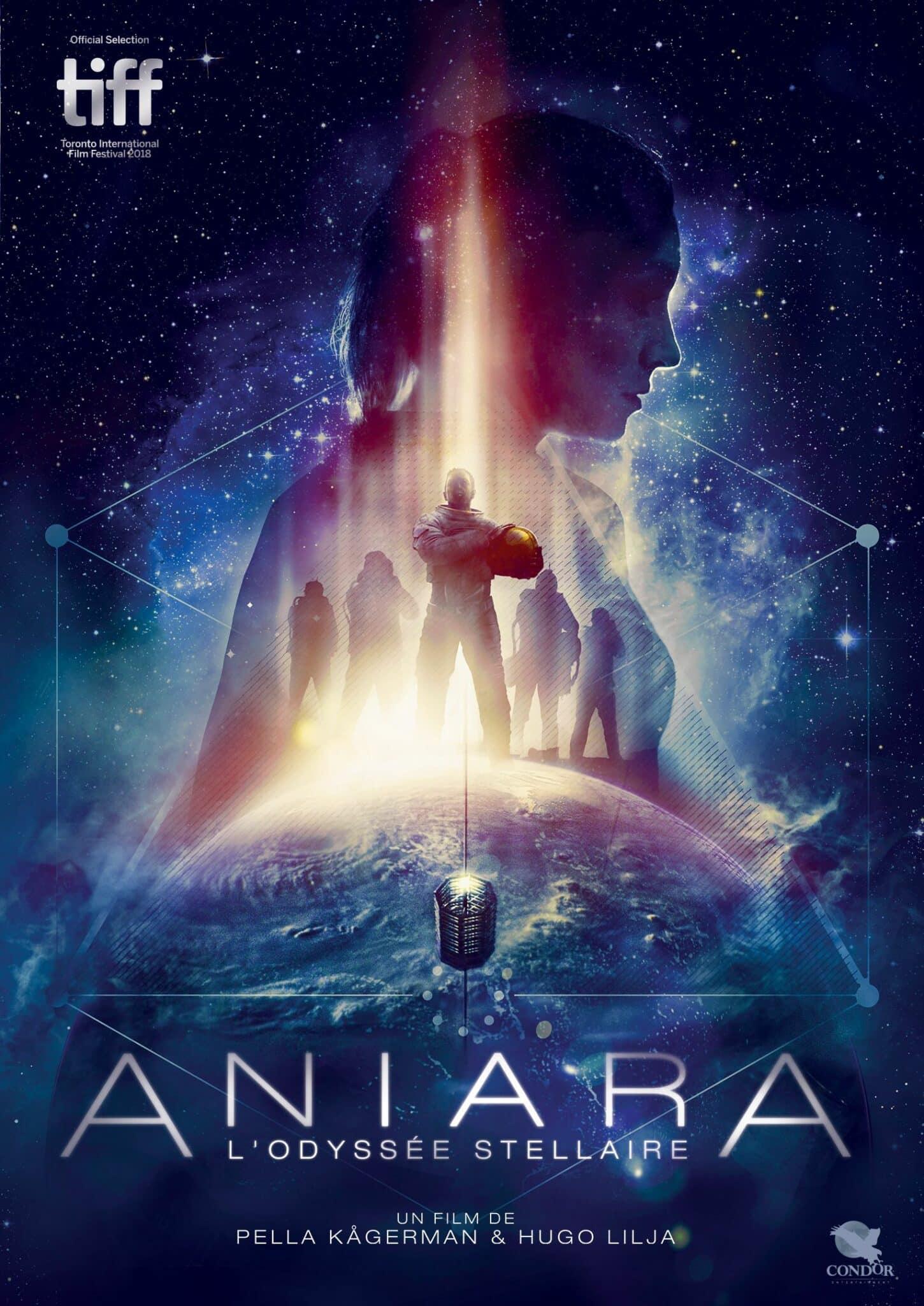Aniara, l'odyssée stellaire, affiche DVD