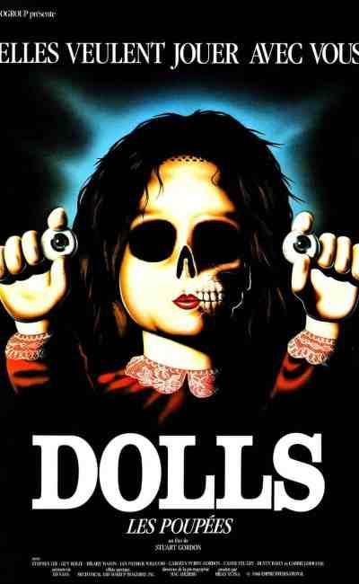 Dolls les poupées de Stuart Gordon, affiche poster