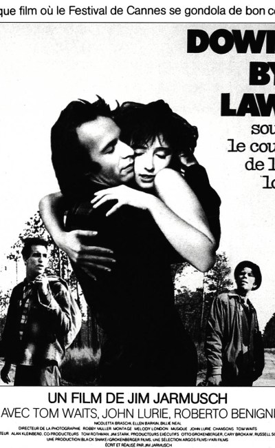 Down By Law, affiche du film de Jim Jarmusch