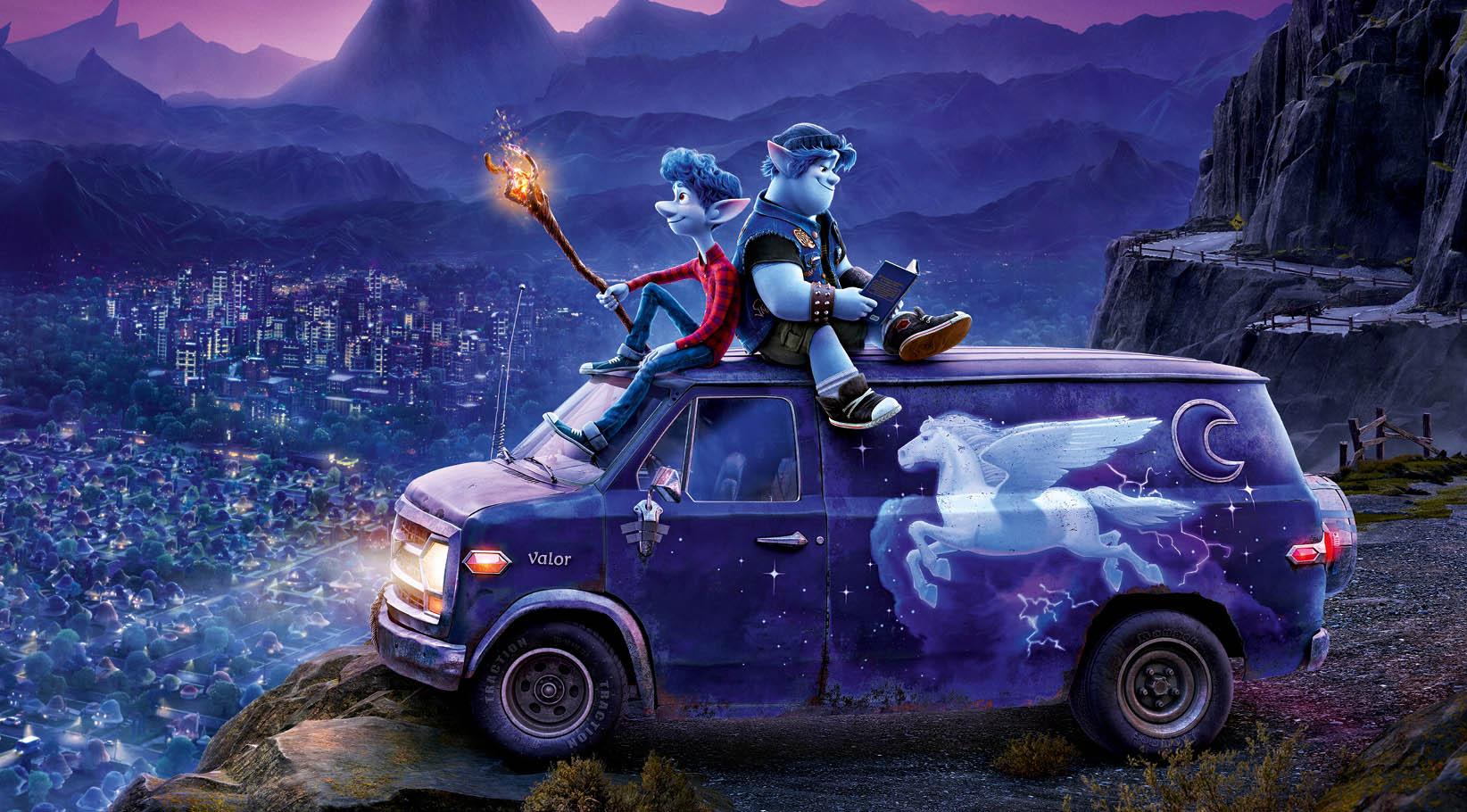 Premier teaser d'En Avant de Disney Pixar