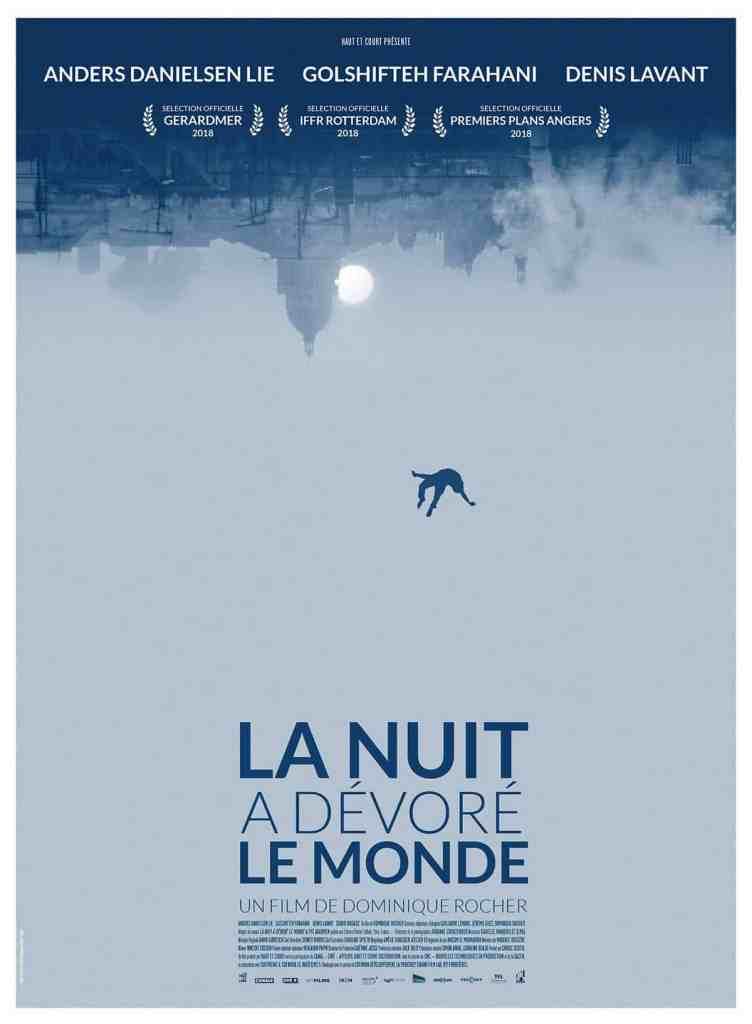 La nuit a dévoré le monde, l'affiche officielle du film