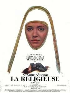 La religieuse, l'affiche du film de Rivette