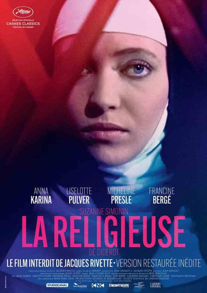 La religieuse : affiche cinéma reprise 2018