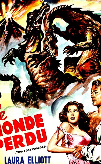 Le Monde perdu (the lost world) : affiche