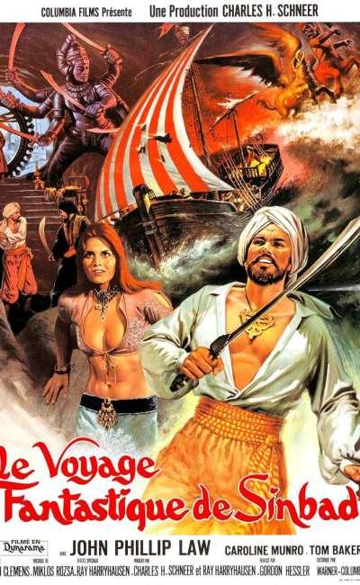 Le voyage fantastique de Sinbad, l'affiche