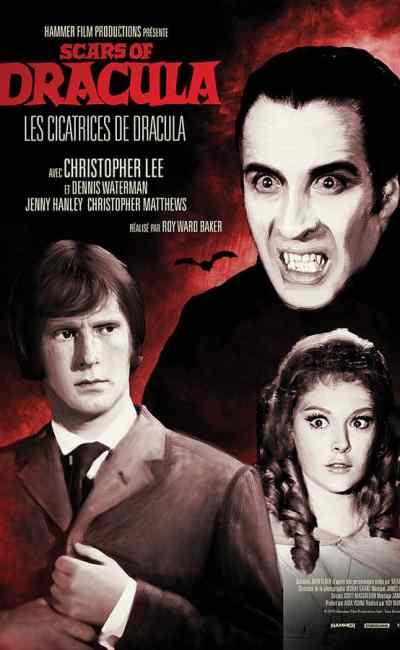 Affiche reprise 2021 de Les cicatrices de Dracula