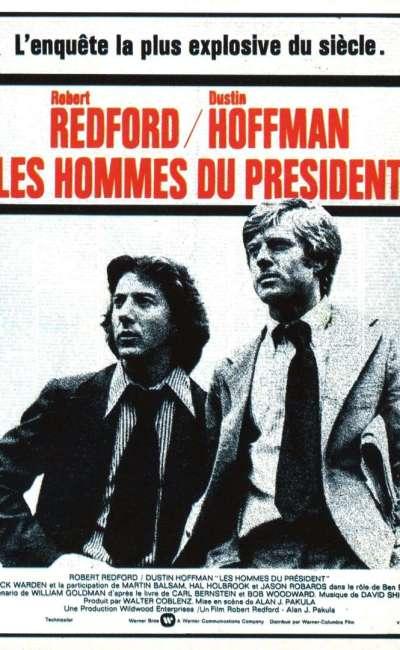 Les hommes du président, l'affiche