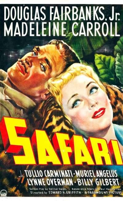 Safari, affiche de 1940