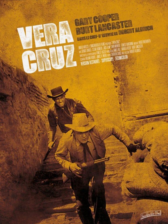 Vera Cruz, affiche de a reprise 2018 par Swashbuckler Films