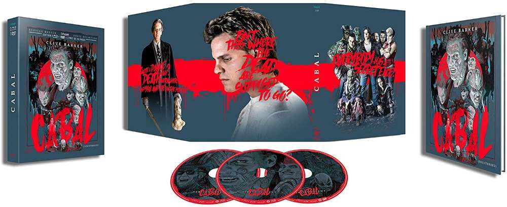 Cabal, combo DVD Blu-ray