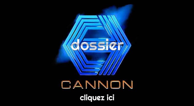 Logo de la firme Cannon, dossier Golan-Globus