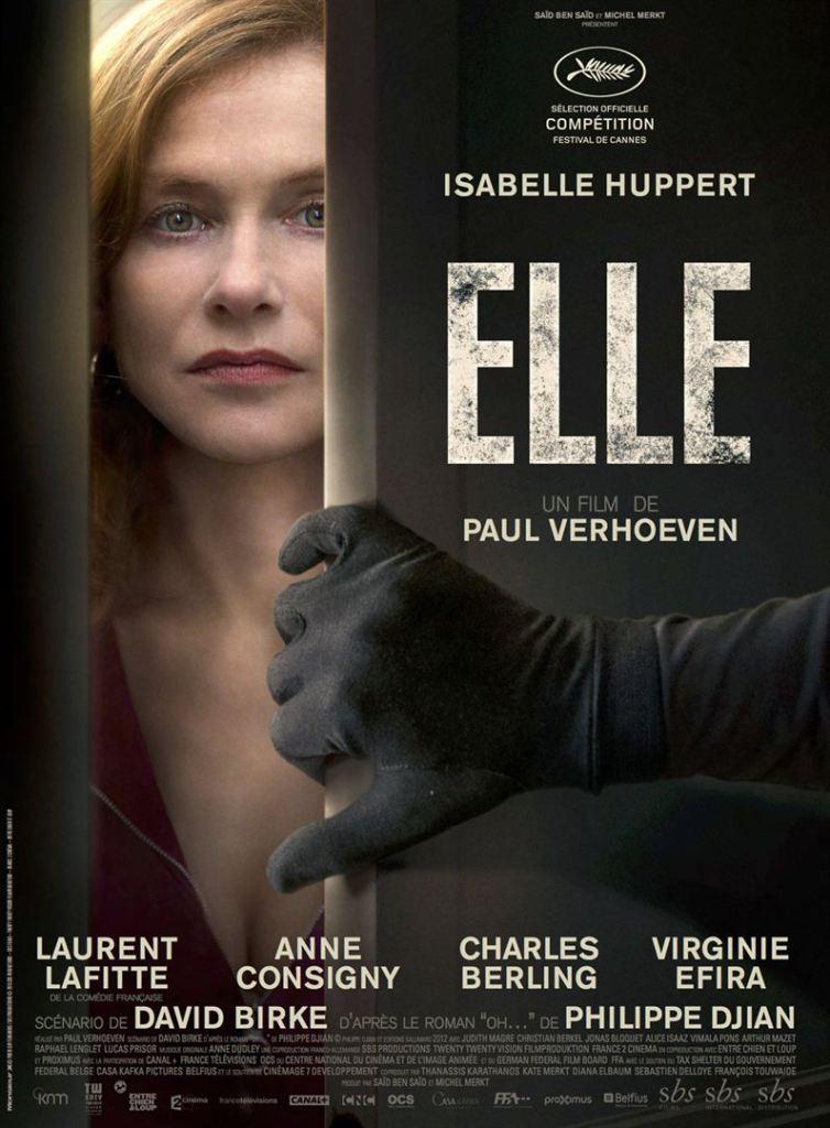 Affiche de Elle de Paul Verhoven