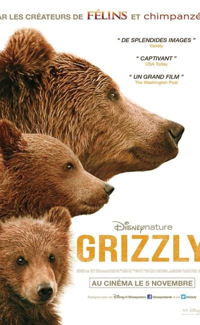 Grizzly (Bears), affiche cinéma