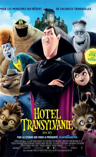 Hôtel Transylvanie 1, affiche du film d'animation