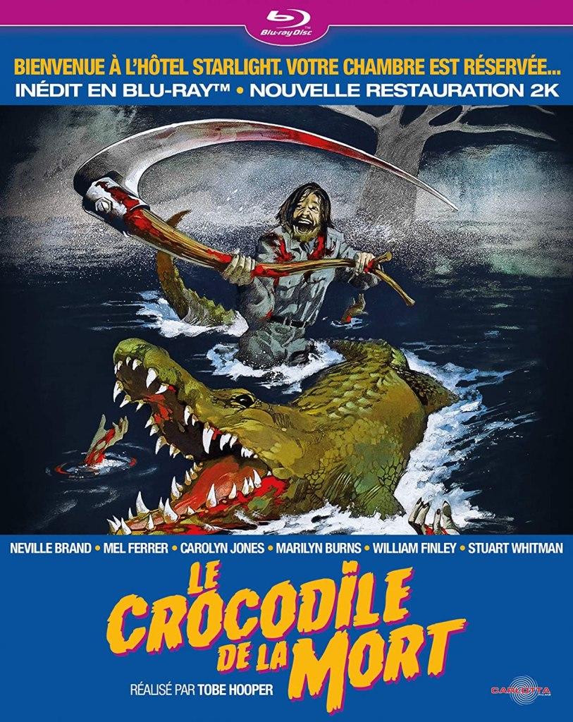 Le crocodile de la mort de Tobe Hooper (blu-ray)