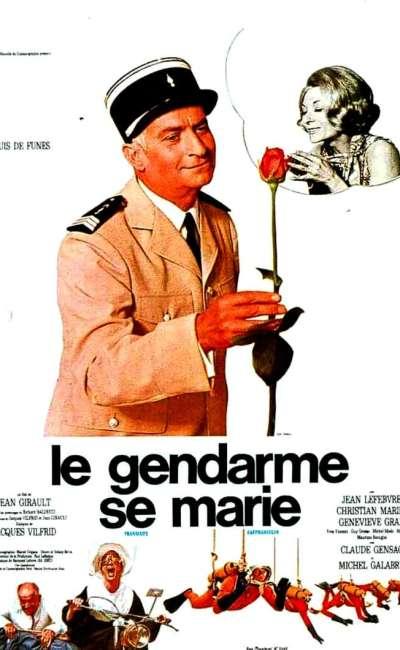 Le gendarme se marie, l'affiche